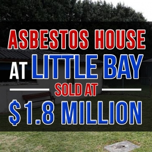 Asbestos House at Little Bay
