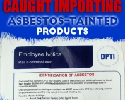 Adelaide Company Caught Importing Asbestos-tainted Products | Blog | AWARE Asbestos Removal