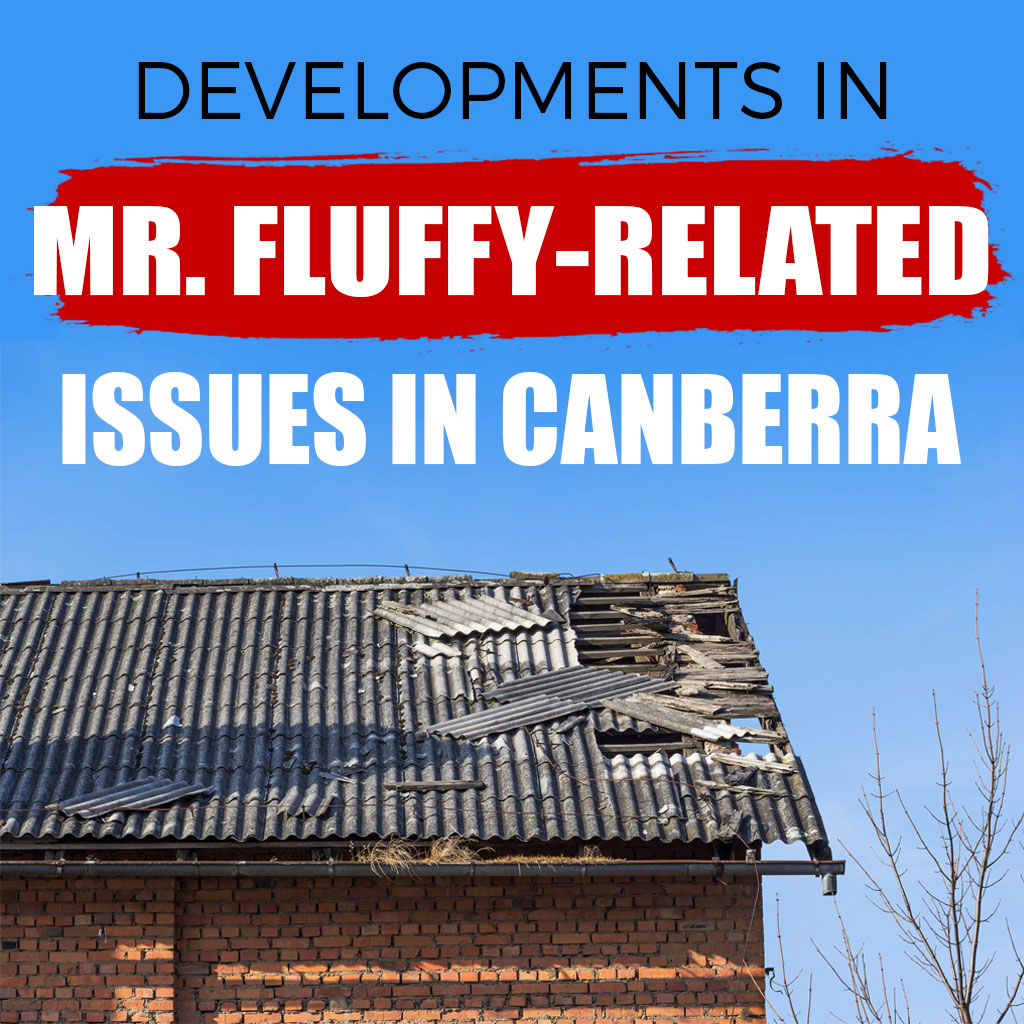 Developments in Mr. Fluffy-related Issues in Canberra