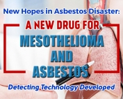 New Hopes in Asbestos Disaster: A New Drug for Mesothelioma and Asbestos Detecting Technology Developed