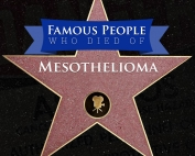 Famous People who Died of Mesothelioma