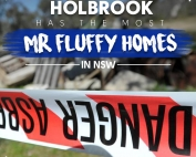 Holbrook Has the Most Mr Fluffy Homes in NSW