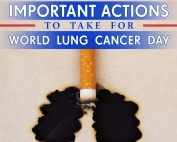 Important Actions to Take for World Lung Cancer Day
