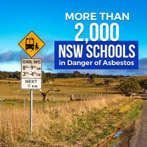 More than 2000 NSW Schools in Danger of Asbestos