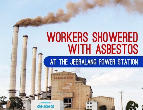 Workers Showered with Asbestos at the Jeeralang Power Station